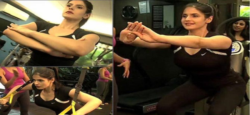 Zareen Khan's workout video is the ultimate fitness goals (Photo: Facebook)