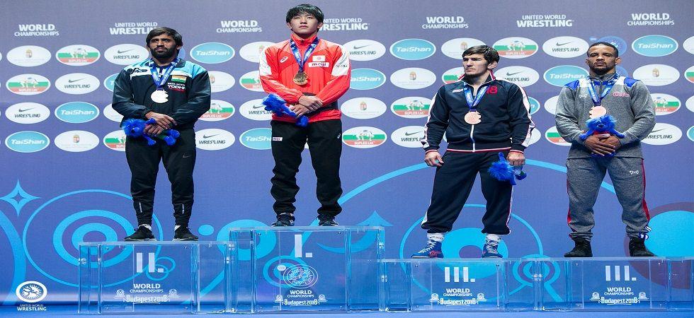 Bajrang Punia settles for silver in World Wrestling Championship