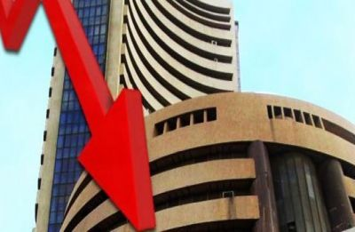 Market hits over 6-mth low as rupee woes, trade war worries linger