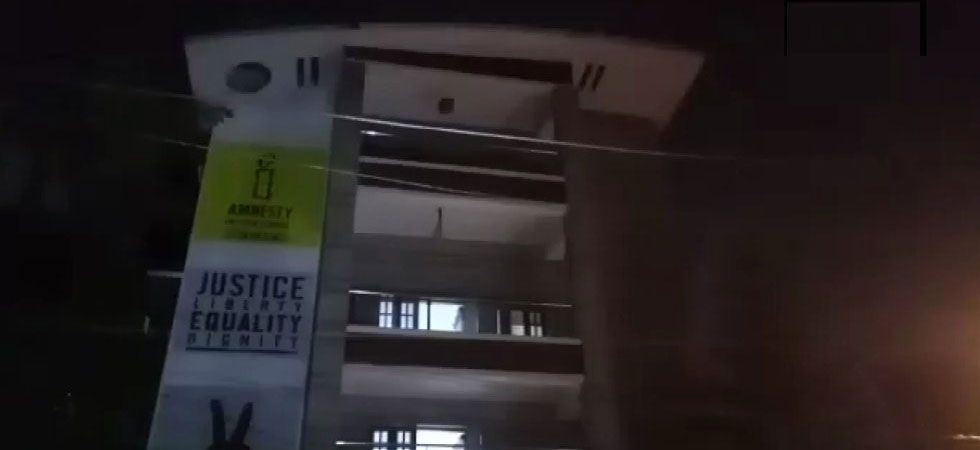 Enforcement Directorate raids Amnesty International office in Bengaluru (ANI Photo)
