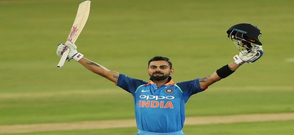 Virat Kohli's record century was not enough as India tied the Vizag ODI against West Indies. (Image source: Twitter)