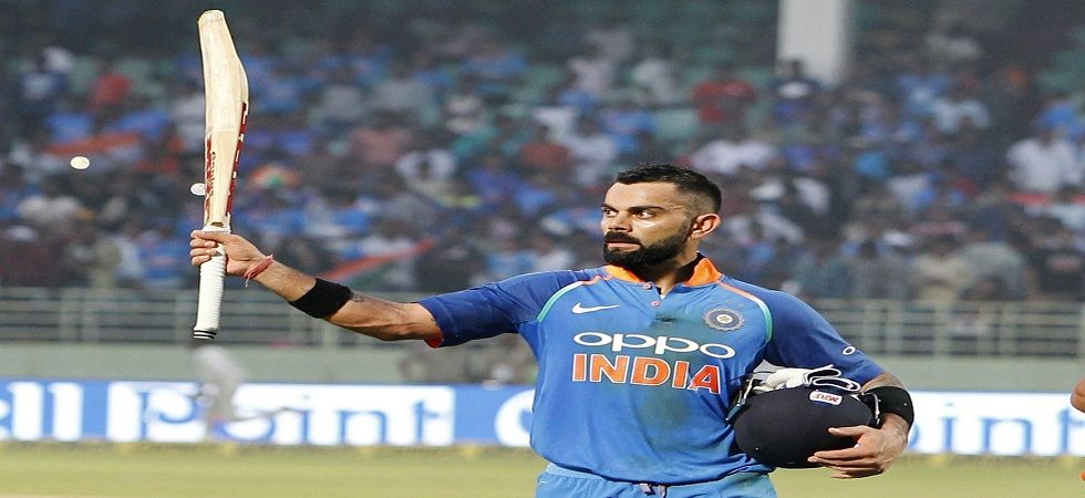 Virat Kohli's short run in the Indian innings proved to the difference between a tied game and a win for the Indian team. (Image source: Twitter)