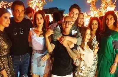 Salman Khan, Shilpa Shetty arrive at Aayush Sharma's birthday bash