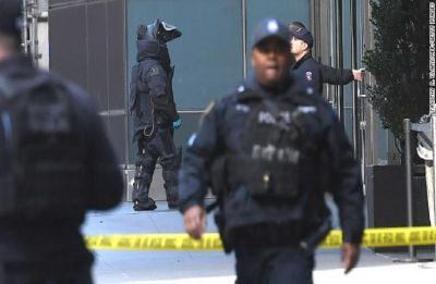 Suspect arrested in connection with US serial bomb packages