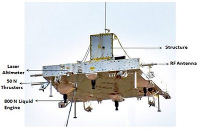 Scaled down test for safe landing of Chandrayaan-2 lander conducted successfully: ISRO