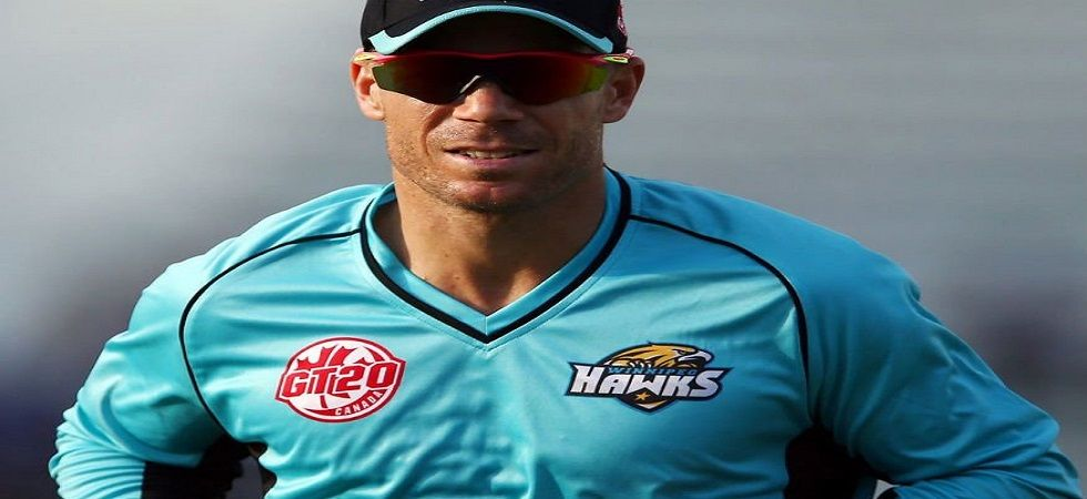 David Warner was one of the marquee players in the first edition of the Global T20 Canada tournament. (Image credit: Twitter)