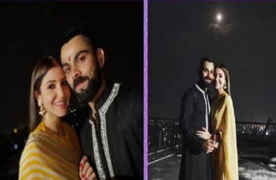 After Virat-Anushka's Wedding, Sabyasachi once again dresses up the couple for their first Karwa Chauth