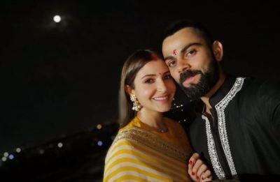 Karwa Chauth 2018: Virat Kohli and Anushka Sharma's celebrations take couple goals to an all-new adorable level