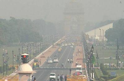 Delhi Pollution: Haze engulfs national capital as AQI touches 369-mark
