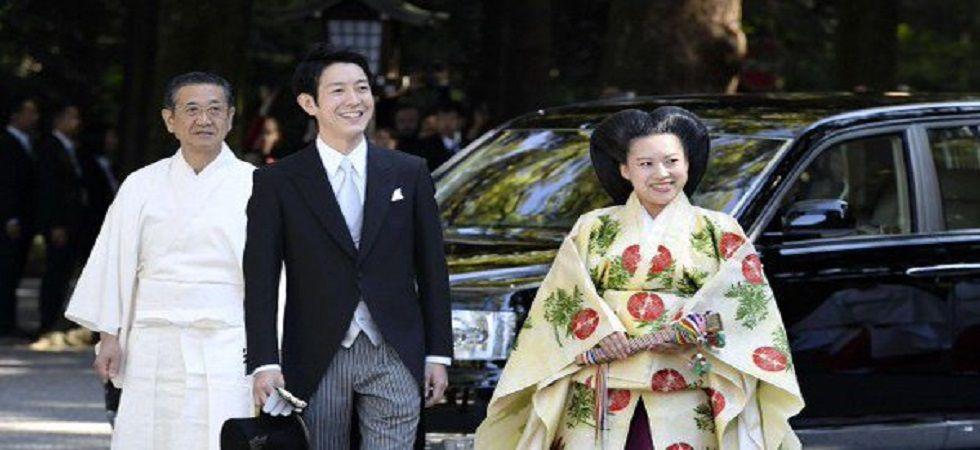 Japanese Princess Ayoka marries commoner (Photo: Twitter)