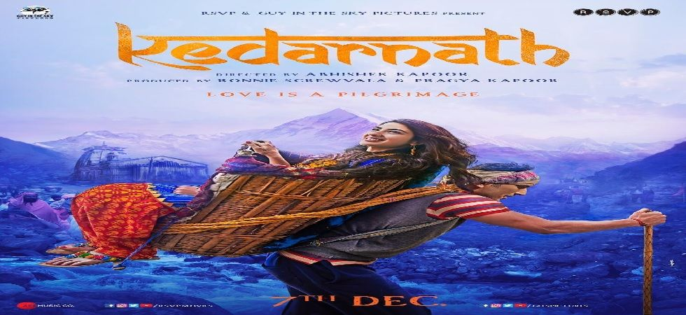 Kedarnath: Sushant Singh Rajput and Sara Ali Khan sizzle as they showcase the power of love in first look