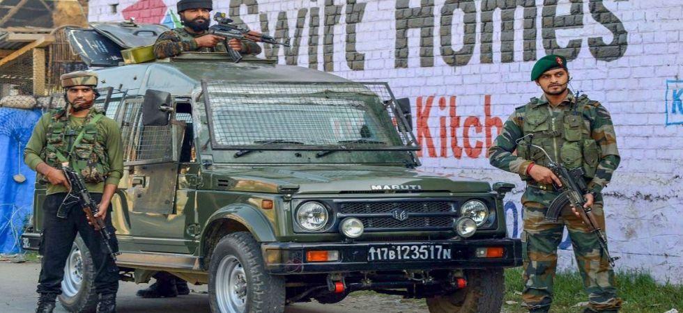 Jammu and Kashmir: Security forces gun down one militant in Handwara (File Photo)