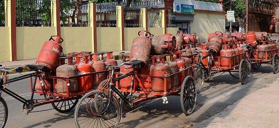 LPG price raised by Rs 2.94 per cylinder