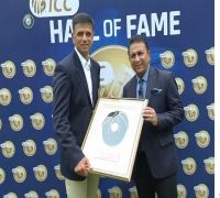 Rahul Dravid, 'The Wall', inducted into ICC Hall of Fame