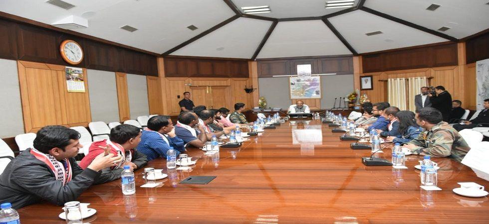 Manipur CM N Biren Singh calls for review of AFSPA (Photo- Twitter)