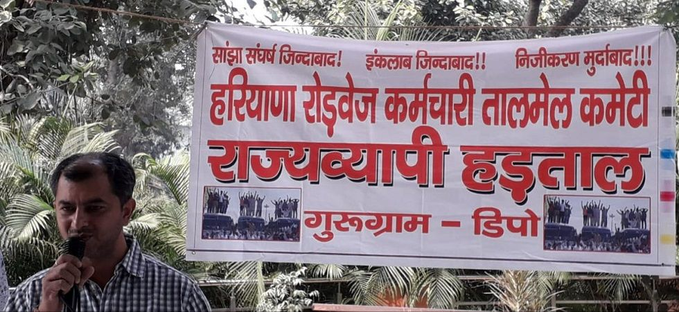After HC intervention, Haryana Roadways employees decide to end strike (Photo- Twitter)
