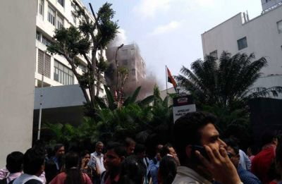 Kolkata: Fire at Apeejay House building in Park Street; no casualty reported