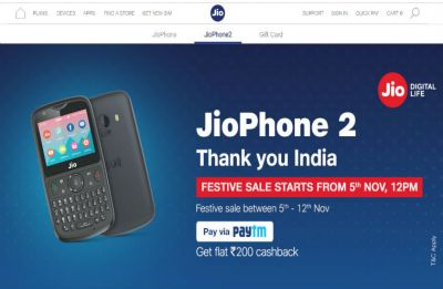 Jio Phone 2 festive open sale starts today; check here to grab mouth-watering offers this Diwali