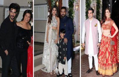 Sushmita Sen's rumoured boyfriend Rohman Shawl turned heads at Shilpa Shetty's Diwali bash