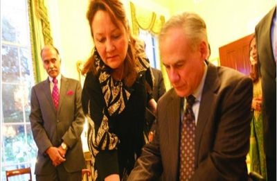Texas governor Greg Abbott hosts Diwali celebrations at his residence
