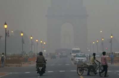 Delhi Air is Poisonous: People protest against 'Unbreathable India' outside Environment Ministry office