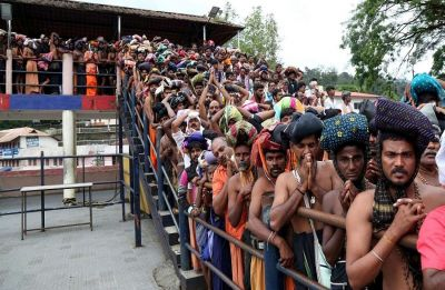 RSS leader sparks controversy after allegedly violating Sabarimala temple tradition