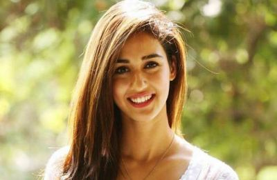 Disha Patani giving fans the feast to the eyes with her Indo-Western look