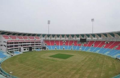 Yogi Adityanath inaugurates Bharat Ratna Atal Bihari Vajpayee Ekana Cricket Stadium ahead of India-Windies T20I