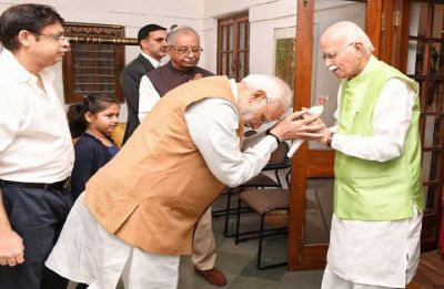 Advani turns 91; PM Modi meets BJP veteran, says his contribution towards nation building monumental