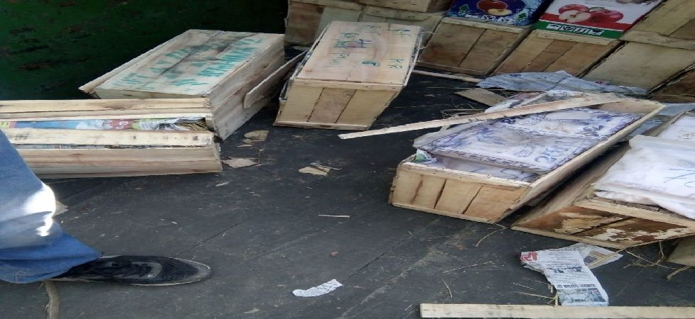 Delhi: Heroin worth Rs 200 crore seized from Azadpur Mandi (Image: Twitter)