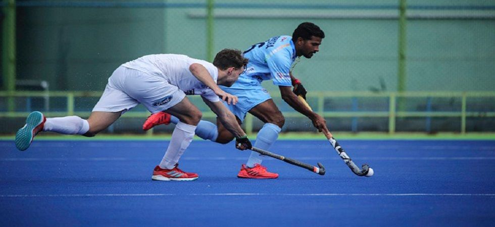 Hockey India names 34 players for junior men's national camp (Photo- Twitter/@TheHockeyIndia)
