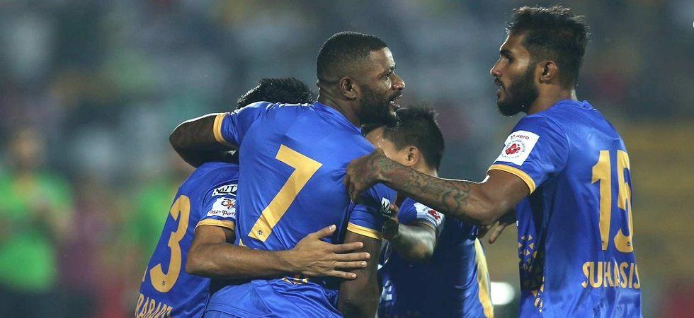 ISL: Mumbai end NorthEast's unbeaten run (Photo- Twitter/@IndSuperLeague)