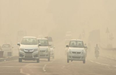 Delhi's air quality improves but still in 'severe' category