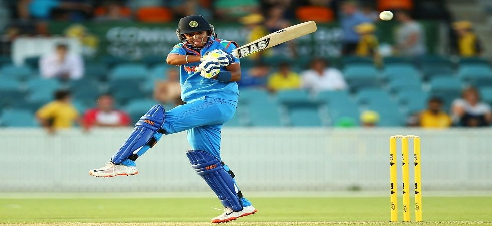 Harmanpreet Kaur became only the third player to hit a century in the Women's World T20 (Image credit: Twitter)