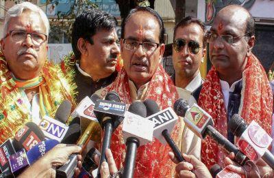 Madhya Pradesh Polls: Shivraj Singh Chouhan dismisses Congress manifesto; criticises former PM Rajiv Gandhi