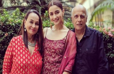 In Pics: Alia Bhatt dazzles in traditional attire at KIFF 2018; gives major family goals with Soni Razdan, Mahesh Bhatt