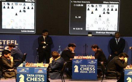 Tata Steel Chess: Viswanathan Anand stays unbeaten, mixed