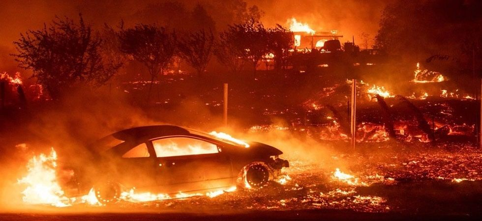 California fire: Hollywood celebrities use social media platform to call out for help (Twitter photo/MSultanTariq)