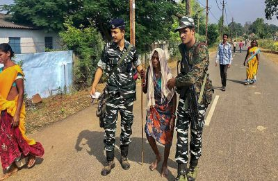 On Chhattisgarh Election day, five Naxals gunned down in Bijapur encounter; two in Sukma