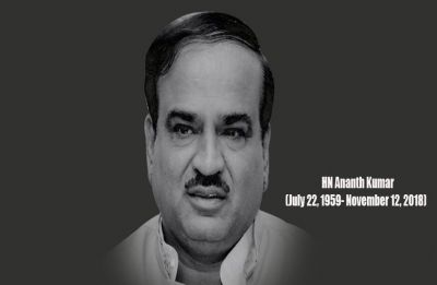 Union Minister Ananth Kumar to be laid to rest with state honours in Bengaluru today