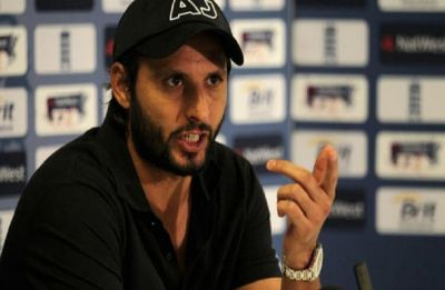 After controversial comment on Kashmir, Shahid Afridi slams Indian media
