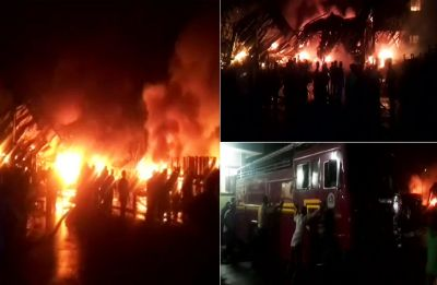 Massive fire breaks out in factory at Delhi's Bawana Industrial Area, 22 fire engines at the spot