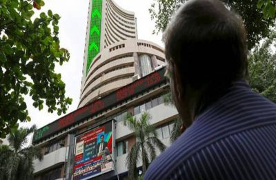 Sensex jumps over 150 points on funds inflow, global cues