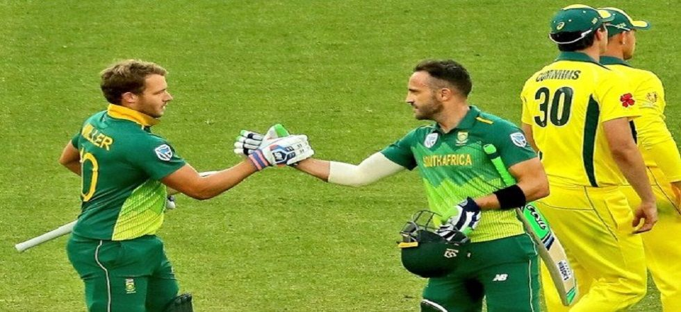 Faf du Plessis has hinted that the World T20 which will be played in Australia in 2020 will be his last Twenty20 International outing. (Image credit: Twitter)