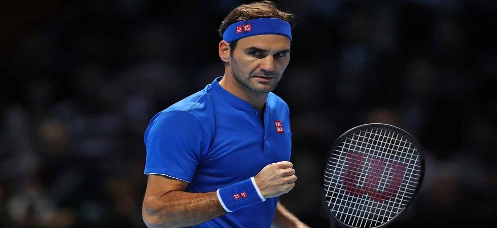 Roger Federer stayed on course for his 100th ATP title as he entered the semi-final of the season-ending ATP Finals tournament. (Image credit: Twitter)