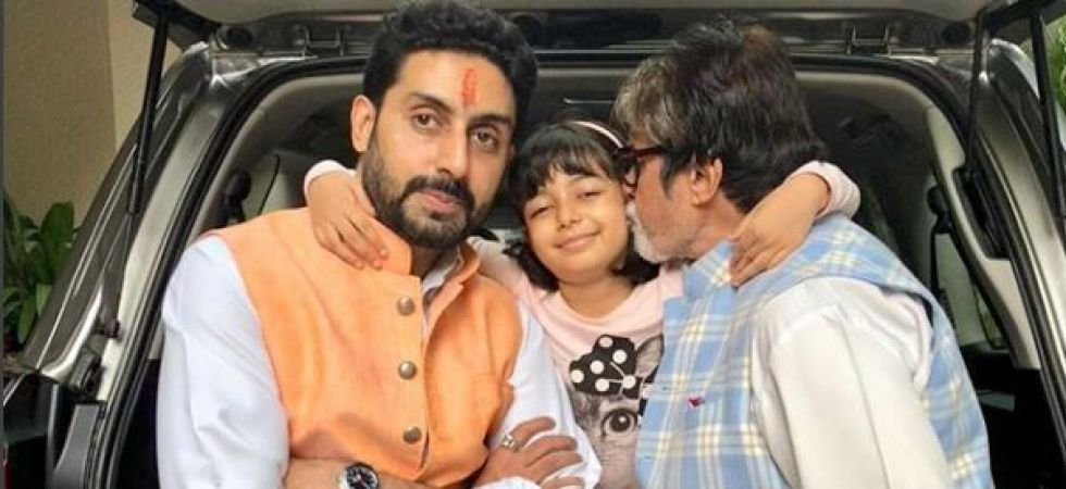 Bachchan family's apple of an eye Aaradhya blows 7 candles, Amitabh, Abhishek share heartfelt birthday wishes (Instagrammed photo)