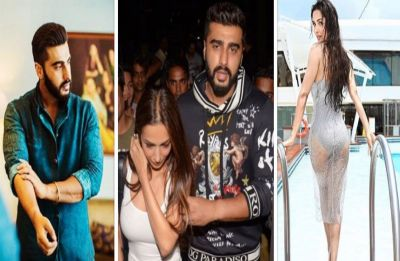 Arjun Kapoor and Malaika Arora cuddle up at a party, picture goes VIRAL