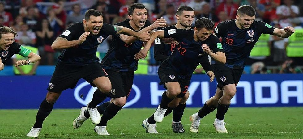 Croatia defeated England in the semi-final of the 2018 FIFA World Cup to enter the final for the first time. (Image credit: Twitter)