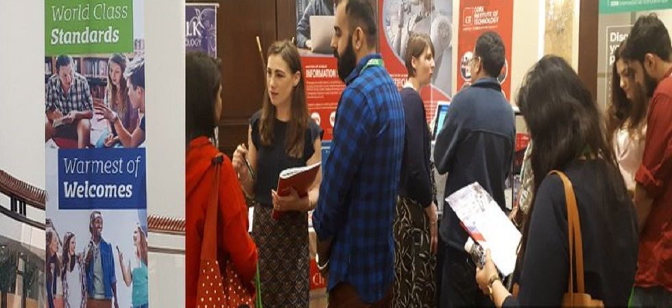 Education fair organised for Indian students aspiring to study in Ireland (Photo- Twitter/@barry_eduirl)