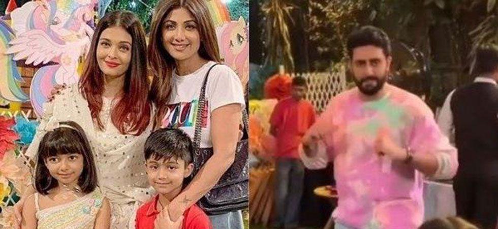 Abhishek Bachchan dance like nobody is watching on Aaradhya's birthday/ Image: Instagram